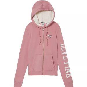 Victoria's Secret Sherpa hood full zip